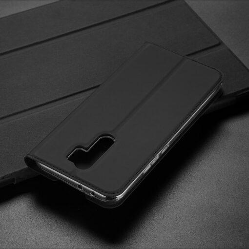 Xiaomi Redmi 9 kunstnahast kaaned DUX DUCIS Skin Pro Bookcase roosa 20