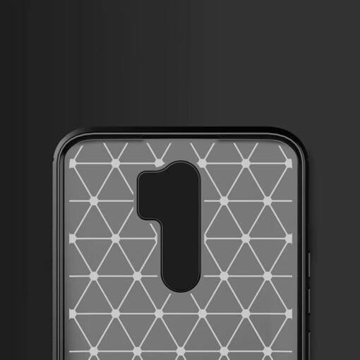 Xiaomi Redmi 9 umbris silikoonist Carbon must 2