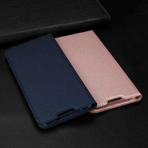 Xiaomi Redmi Note 8 Pro kunstnahast kaaned DUX DUCIS Skin Pro Bookcase roosa 12