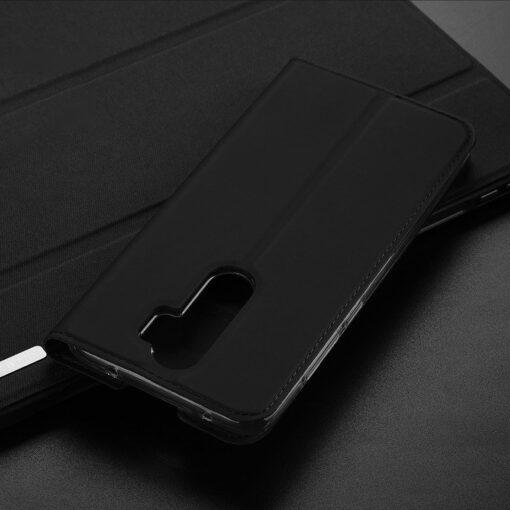 Xiaomi Redmi Note 8 Pro kunstnahast kaaned DUX DUCIS Skin Pro Bookcase roosa 16