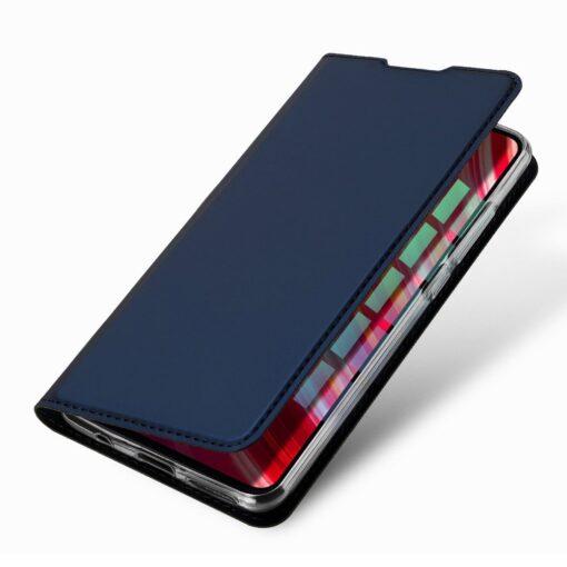 Xiaomi Redmi Note 8 Pro kunstnahast kaaned DUX DUCIS Skin Pro Bookcase roosa 5