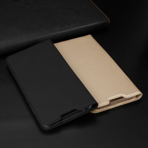 Xiaomi Redmi Note 8 Pro kunstnahast kaaned DUX DUCIS Skin Pro Bookcase roosa 7