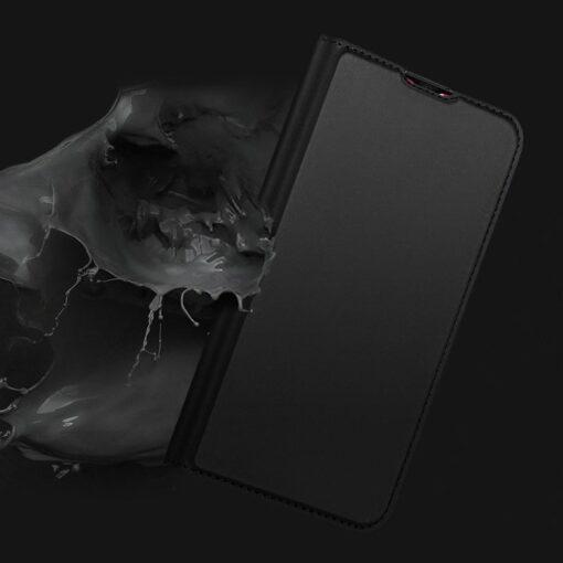 Xiaomi Redmi Note 8 Pro kunstnahast kaaned DUX DUCIS Skin Pro Bookcase roosa 9