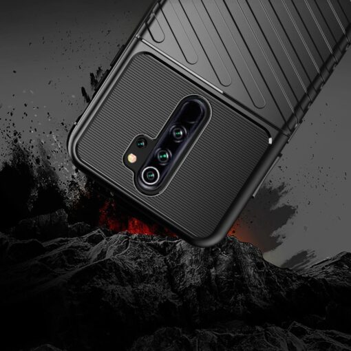 Xiaomi Redmi Note 8 Pro tugev umbris Thunder silikoonist must 4