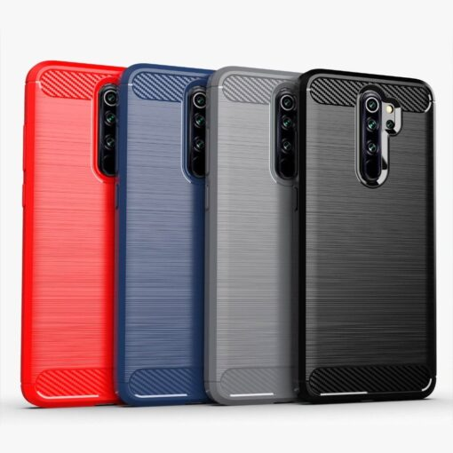 Xiaomi Redmi Note 8 Pro umbris silikoonist Carbon must 2