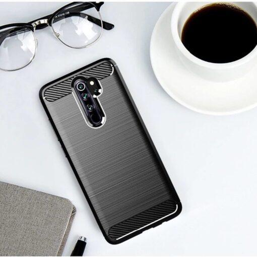 Xiaomi Redmi Note 8 Pro umbris silikoonist Carbon must 3