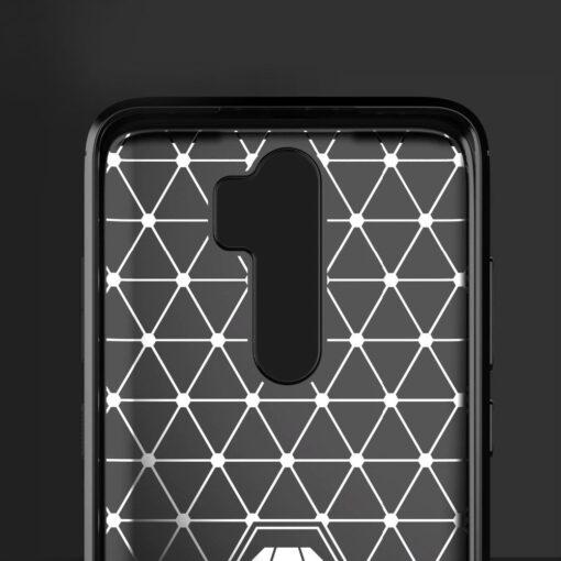 Xiaomi Redmi Note 8 Pro umbris silikoonist Carbon must 5