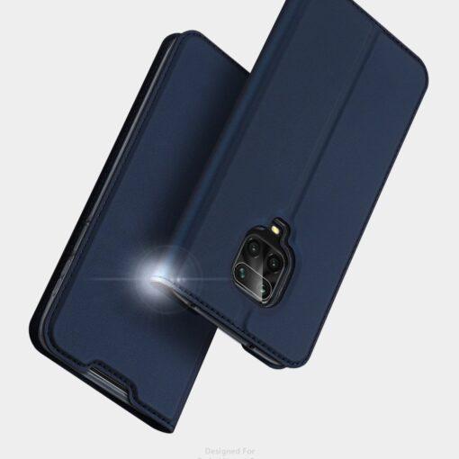 Xiaomi Redmi Note 9 Pro kunstnahast kaaned DUX DUCIS Skin Pro Bookcase must 13