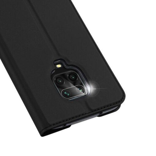 Xiaomi Redmi Note 9 Pro kunstnahast kaaned DUX DUCIS Skin Pro Bookcase must 2