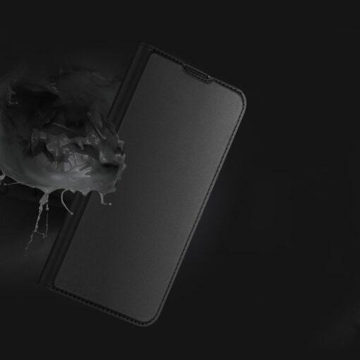 Xiaomi Redmi Note 9 Pro kunstnahast kaaned DUX DUCIS Skin Pro Bookcase roosa 11