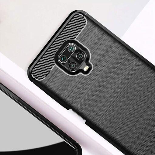 Xiaomi Redmi Note 9 Pro umbris silikoonist Carbon sinine 2