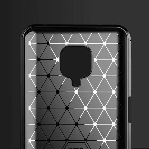 Xiaomi Redmi Note 9 Pro umbris silikoonist Carbon sinine 4