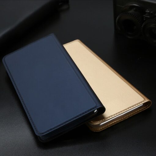 iPhone 11 Pro Max kunstnahast kaaned DUX DUCIS Skin Pro Bookcase kuldne 15