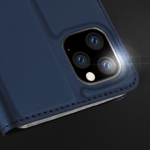 iPhone 11 Pro Max kunstnahast kaaned DUX DUCIS Skin Pro Bookcase must 11
