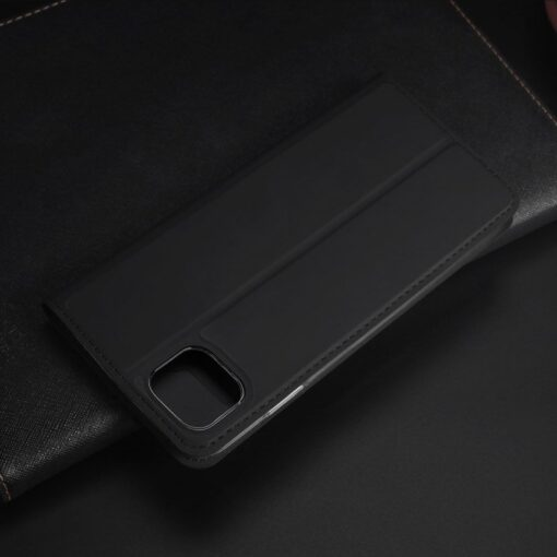 iPhone 11 Pro Max kunstnahast kaaned DUX DUCIS Skin Pro Bookcase must 14
