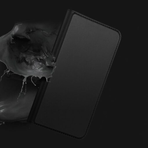 iPhone 11 Pro Max kunstnahast kaaned DUX DUCIS Skin Pro Bookcase must 8
