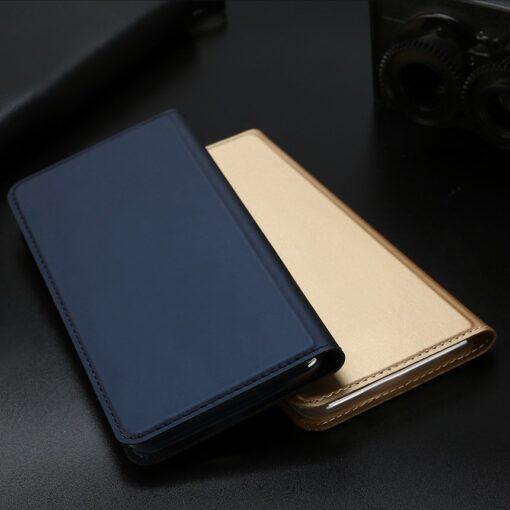 iPhone 11 Pro Max kunstnahast kaaned DUX DUCIS Skin Pro Bookcase roosa 15