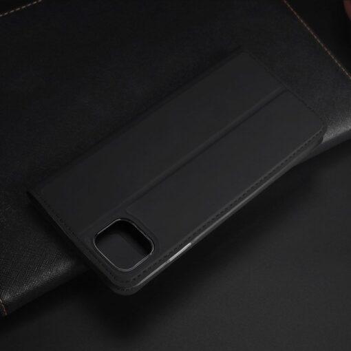 iPhone 11 Pro Max kunstnahast kaaned DUX DUCIS Skin Pro Bookcase roosa 19