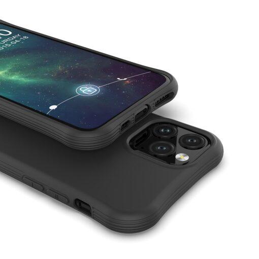 iPhone 11 Pro Max tugevdatud nurkadega silikoonist umbris must 3