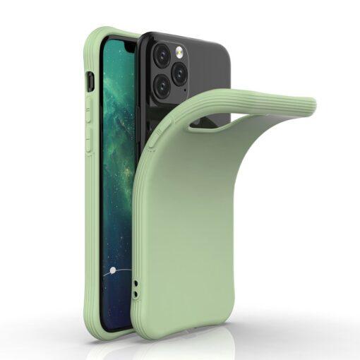 iPhone 11 Pro Max tugevdatud nurkadega silikoonist umbris punane 1