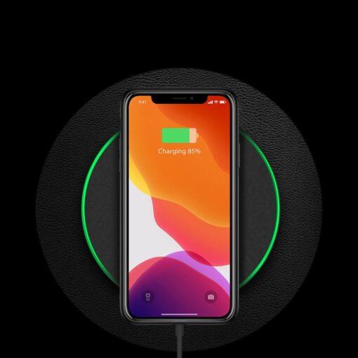 iPhone 11 Pro Max umbris Dux Ducis Yolo elegant kunstnahast ja silikoonist servadega must 9