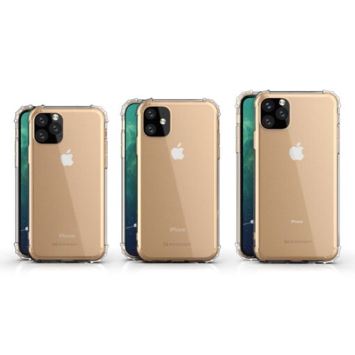 iPhone 11 Pro Max umbris tugevdatud nurkadega silikoonist 12
