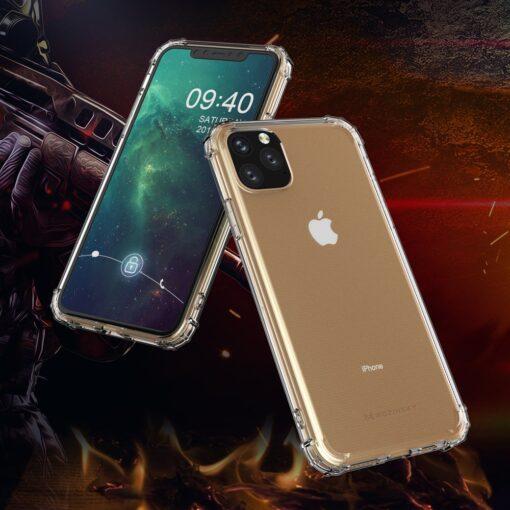 iPhone 11 Pro Max umbris tugevdatud nurkadega silikoonist 15