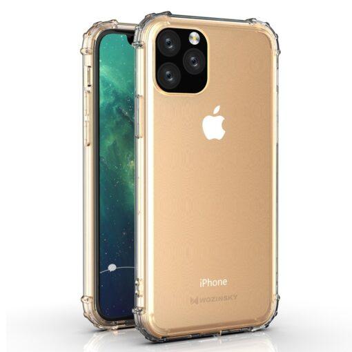 iPhone 11 Pro Max umbris tugevdatud nurkadega silikoonist