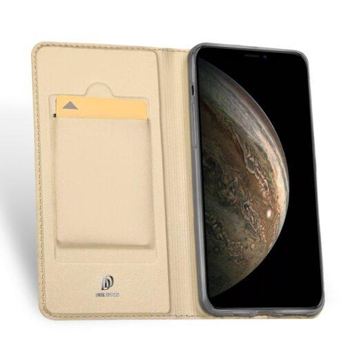 iPhone 11 Pro kunstnahast kaaned DUX DUCIS Skin Pro Bookcase kuldne 2