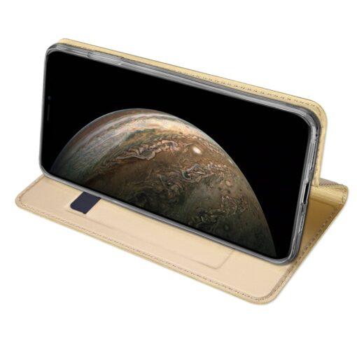 iPhone 11 Pro kunstnahast kaaned DUX DUCIS Skin Pro Bookcase kuldne 4