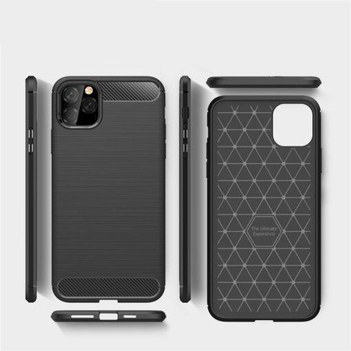 iPhone 11 Pro umbris silikoonist Carbon must 5