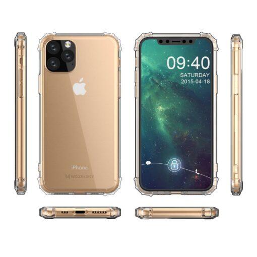iPhone 11 Pro umbris tugevdatud nurkadega silikoonist 7