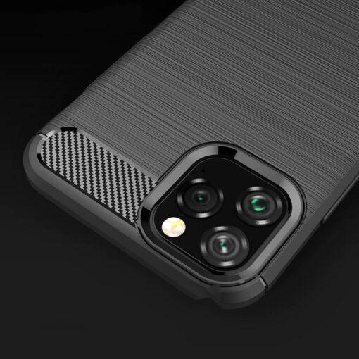 iPhone 11 umbris silikoonist Carbon must 2