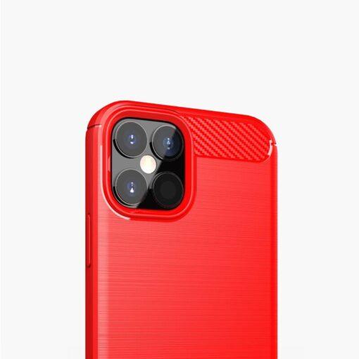 iPhone 12 12 Pro umbris silikoonist Carbon sinine 9