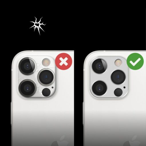 iPhone 12 Pro Max kaamera kaitse Ringke hobe 5