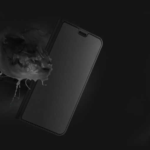 iPhone 12 Pro Max kunstnahast kaaned DUX DUCIS Skin Pro Bookcase kuldne 12