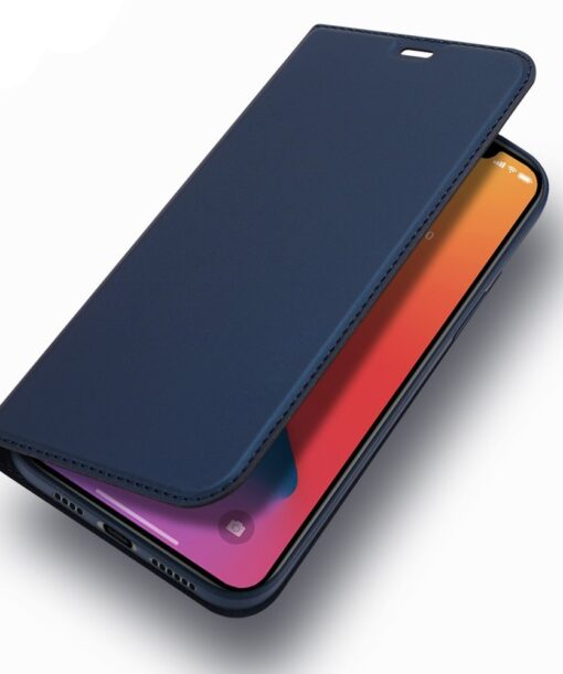 iPhone 12 Pro Max kunstnahast kaaned DUX DUCIS Skin Pro Bookcase kuldne 16