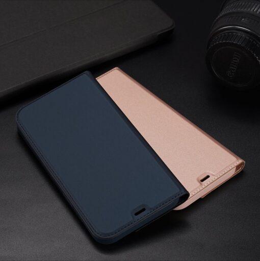 iPhone 12 Pro Max kunstnahast kaaned DUX DUCIS Skin Pro Bookcase kuldne 20