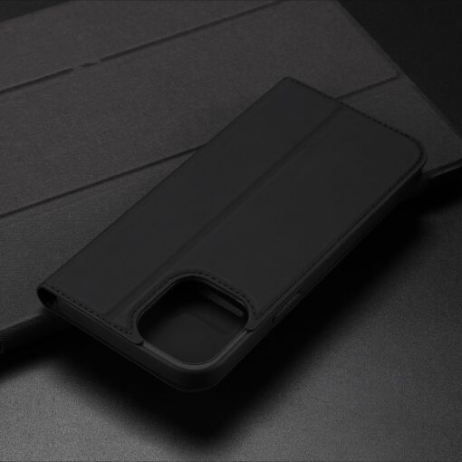 iPhone 12 Pro Max kunstnahast kaaned DUX DUCIS Skin Pro Bookcase kuldne 21
