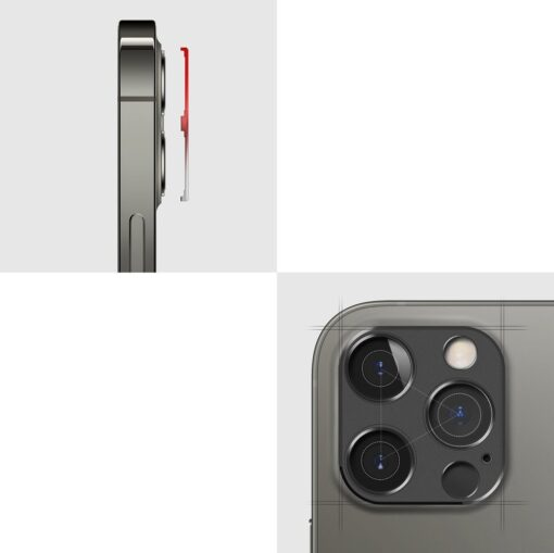 iPhone 12 Pro kaamera kaitse Ringke sinine 2