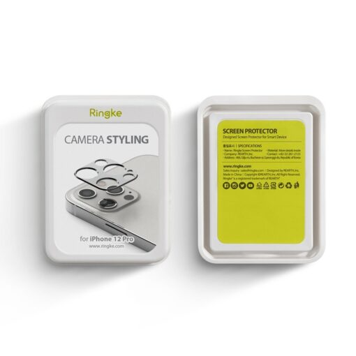 iPhone 12 Pro kaamera kaitse Ringke sinine 3