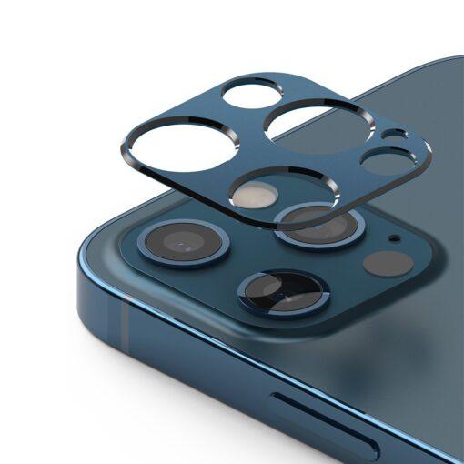 iPhone 12 Pro kaamera kaitse Ringke sinine