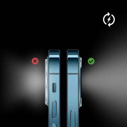 iPhone 12 Pro kaamera kaitse Ringke sinine 6