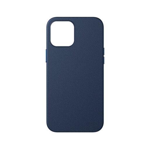 iPhone 12 ja 12 Pro Baseus kunstnahast umbris MagSafe sinine 1