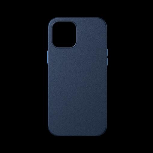 iPhone 12 ja 12 Pro Baseus kunstnahast umbris MagSafe sinine 3