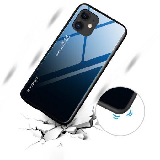 iPhone 12 ja 12 Pro umbris gradient must punane 5