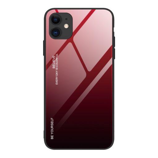 iPhone 12 ja 12 Pro umbris gradient must punane