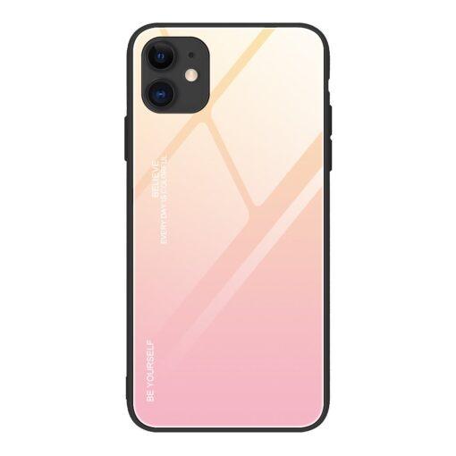iPhone 12 ja 12 Pro umbris gradient roosa