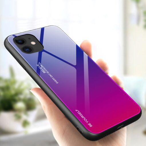 iPhone 12 ja 12 Pro umbris gradient roosa lilla 1