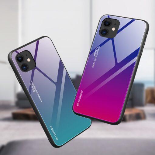 iPhone 12 ja 12 Pro umbris gradient roosa lilla 3